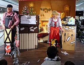 perays magic entertainment showtime in der weihnachtszeit. Black Bedroom Furniture Sets. Home Design Ideas